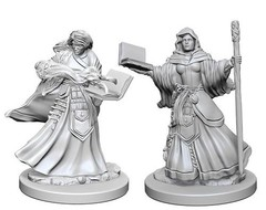 Nolzur's Marvelous Unpainted Miniatures - Human Wizard (Female)