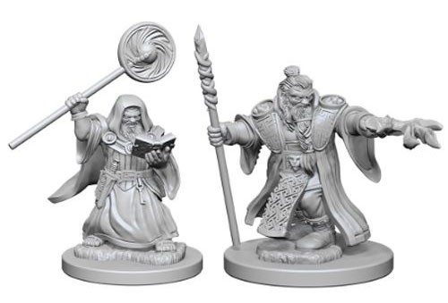 Nolzurs Marvelous Miniatures - Dwarf Wizard (Male)