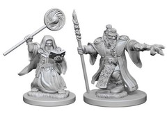 Dungeons And Dragons: Nolzur's Marvelous Unpainted Miniatures - Dwarf Male Wizard