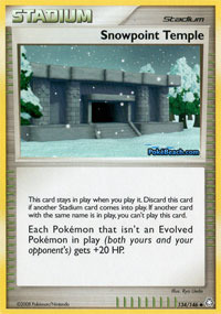 Snowpoint Temple - 134/146 - Uncommon