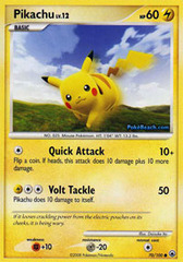 Pikachu - 70/100 - Common on Channel Fireball