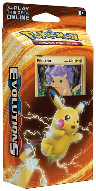 XY Evolutions - Theme Deck (Pikachu Power)