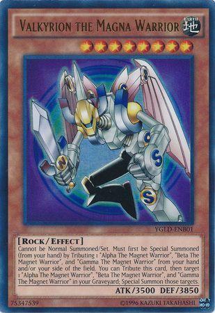 Valkyrion the Magna Warrior Gamma the Magnet Warrior YGLD Beta Alpha
