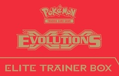 XY Evolutions Elite Trainer Box - Red