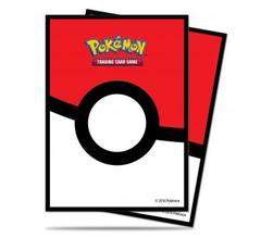 Ultra Pro Standard Deck Protector Sleeves Pokemon Pokeball 65ct