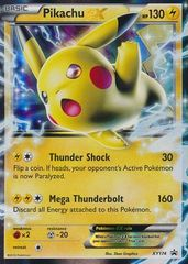Pikachu EX - XY174 - Battle Heart Tins Promo