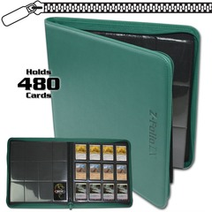 BCW Z-Folio 12-Pocket LX Album - Teal