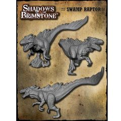 Shadows of Brimstone: Swamp Raptor - XL Enemy Pack
