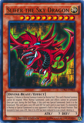 Slifer the Sky Dragon - LDK2-ENS01 - Ultra Rare - Limited Edition on Channel Fireball