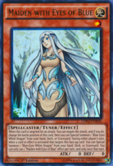 Maiden with Eyes of Blue - LDK2-ENK06 - Ultra Rare - 1st Edition