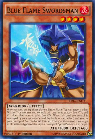 Blue Flame Swordsman - LDK2-ENJ14 - Common - 1st Edition