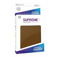 Ultimate Guard: Japanese Supreme UX Sleeves Brown (Box of 60)