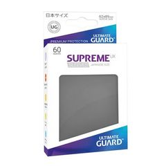 Ultimate Guard - Supreme UX Sleeves Small Size - Dark Grey (60)