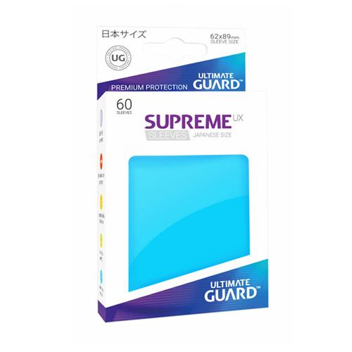 Ultimate Guard: Japanese Supreme UX Sleeves Light Blue (Box of 60)