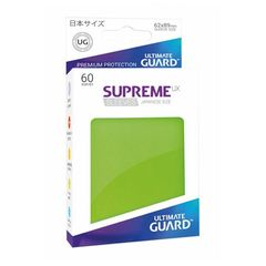 Ultimate Guard - Supreme UX Sleeves Small Size - Light Green (60)