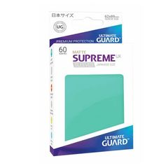 Matte - Turquoise - Supreme UX (Ultimate Guard) - Small Sleeves - 60ct