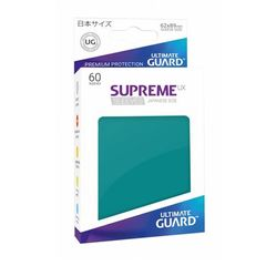 Ultimate Guard - Supreme UX Sleeves Small Size - Petrol Blue (60)