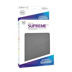 Ultimate Guard - Supreme UX Sleeves Small Size - Matte - Dark Grey (60)