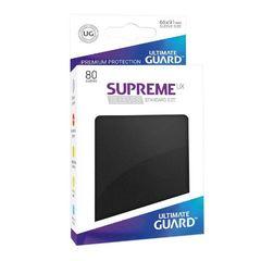 Ultimate Guard - Supreme UX Sleeves Standard Size - Black (80)