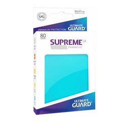 Ultimate Guard: Standard Supreme UX Sleeves Aquamarine (Box of 80)
