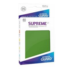 Ultimate Guard: Standard Supreme UX Sleeves Green (Box of 80)
