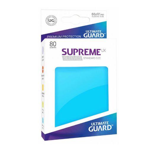 Ultimate Guard - Supreme UX Sleeves Standard Size - Light Blue (80)