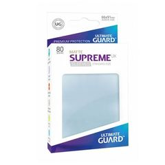 Ultimate Guard - Supreme UX Sleeves Standard Size - Matte - Transparent (80)