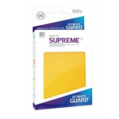 Ultimate Guard - Supreme UX Sleeves Standard Size - Matte - Yellow (80)