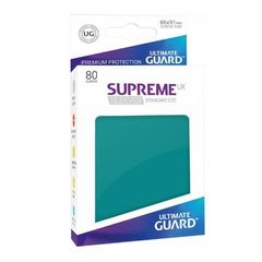 Ultimate Guard - Supreme UX Sleeves Standard Size - Petrol Blue (80)
