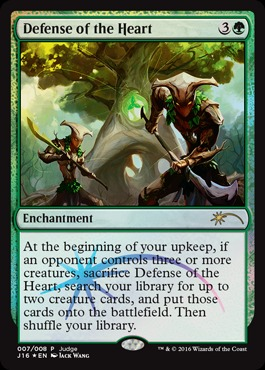 Defense of the Heart (Judge Foil)