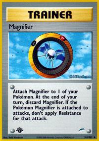 Magnifier - 101/105 - Uncommon - 1st Edition