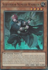 Subterror Nemesis Warrior - TDIL-ENSE3 - Super Rare - Limited Edition