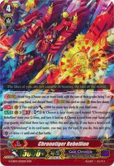 Chronotiger Rebellion - G-CB04/002EN - RRR