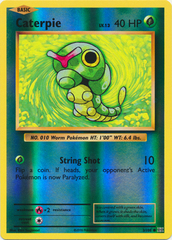 Caterpie - 3/108 - Common - Reverse Holo on Channel Fireball