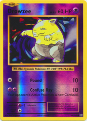 Drowzee - 49/108 - Common - Reverse Holo on Channel Fireball