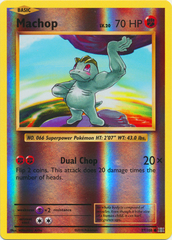 Machop - 57/108 - Common - Reverse Holo