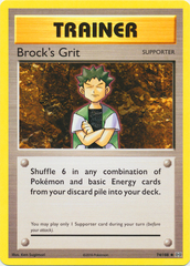 Brock's Grit - 74/108 - Uncommon on Channel Fireball