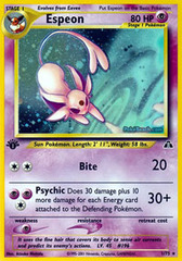 Espeon - 1/75 - Holo Rare - 1st Edition on Channel Fireball