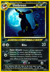 Umbreon - 13/75 - Holo Rare - 1st Edition