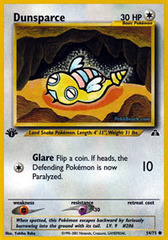 Dunsparce - 54/75 - Common - 1st Edition
