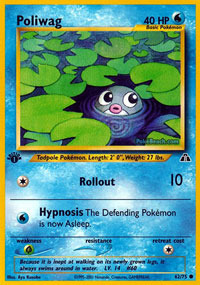 Poliwag - 62/75 - Common - 1st Edition