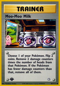 Moo-Moo Milk - 101/111 - Common - 1st Edition