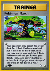 Pokemon March - 102/111 - Common - 1st Edition