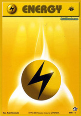 Lightning Energy - 109/111 - Common - 1st Edition