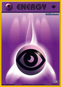 Psychic Energy - 110/111 - Common - 1st Edition