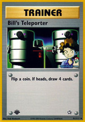 Bill's Teleporter - 91/111 - Uncommon - 1st Edition on Channel Fireball