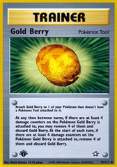 Gold Berry - 93/111 - Uncommon - 1st Edition
