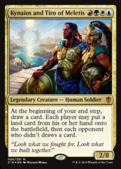 Kynaios and Tiro of Meletis - Foil