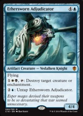 Ethersworn Adjudicator on Channel Fireball