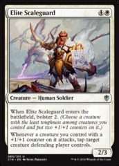 Elite Scaleguard on Channel Fireball
